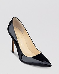 Ivanka Trump Pointed Toe Pumps Carra High Heel Black
