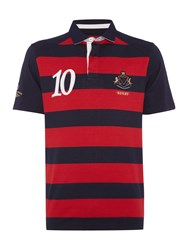 Howick Tytherley Boat Club Short Sleeve Rugby Red