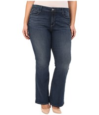 Nydj Plus Size Plus Size Farrah Flare In Inwood Inwood Women's Jeans Blue