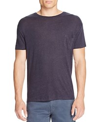Rails Garrett Pocket Tee Navy