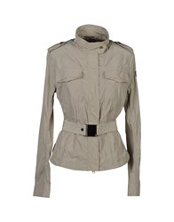 313 Tre Uno Tre Coats And Jackets Jackets Women Light Grey