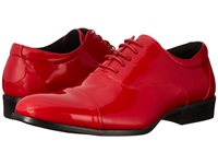Stacy Adams Gala Red Patent Men's Lace Up Cap Toe Shoes