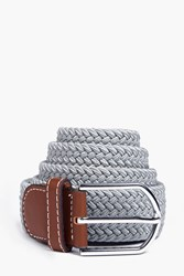 Boohoo Elasticated Belt Grey