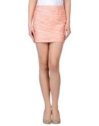 Sessun Mini Skirts Salmon Pink