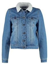 Vero Moda Vmtine Denim Jacket Dark Blue Denim Dark Blue Denim