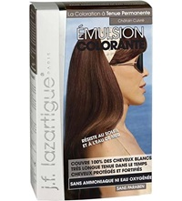 J.F.Lazartigue Colour Emulsion For Grey Hair In Chestnut Copper 60Ml