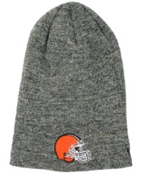 New Era Cleveland Browns Slouch It Knit Hat Gray