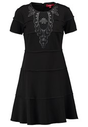 Derhy Gisors Jersey Dress Noir Black