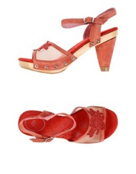 Fornarina Sandals Red
