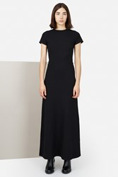 Opening Ceremony Pique Polo Maxi Dress Black