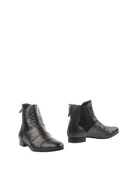 Pons Quintana Ankle Boots Steel Grey