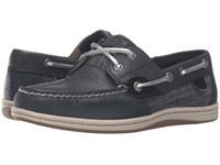 Sperry Koifish Metallic Sparkle Black Women's Lace Up Moc Toe Shoes