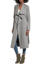 St. Studio Women's Drape Front Duster Coat