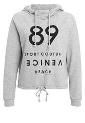 Venice Beach Zoda Hoodie Light Grey Melange