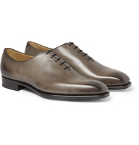 Edward Green Hand Polished Newbury Leather Oxford Shoes