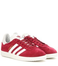 Adidas Gazelle Og Suede Sneakers Red