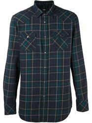 Diesel Checked Shirt Multicolour
