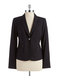 Calvin Klein Pin Striped Blazer Navy