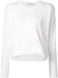 T By Alexander Wang 'Terry' Sweatshirt White