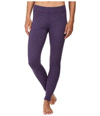 Smartwool Nts Mid 250 Pattern Bottoms Mountain Purple Heather Women's Casual Pants Metallic