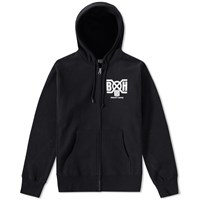 Bounty Hunter Logo Zip Hoody Black