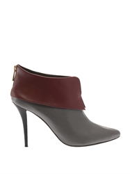 Lucy Choi London Yarmouth Leather Ankle Boots