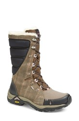 Women's Ahnu 'Northridge Wp ' Insulated Waterproof Boot Brindle
