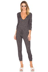 Riller And Fount Louisa Jumpsuit Charcoal