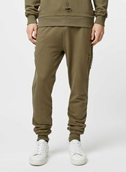 Topman Criminal Damage Shoreditch Olive Joggers Green