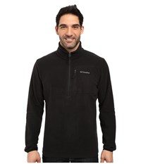 Columbia Cascades Explorer Half Zip Fleece Black Men's Coat