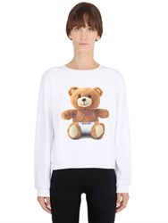 Moschino Bear Cotton Sweatshirt