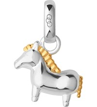 Links Of London Chinese Zodiac Horse Sterlin Silver And 18Ct Yellow Gold Charm