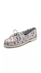 Sperry Eye Gray Malin Boat Shoes Sand