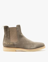 Common Projects Chelsea Boot Suede In Grey