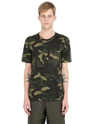 Adidas Originals Day One Camouflage Reflective Running T Shirt