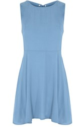 Glamorous Cut Out Sun Dress Light Blue