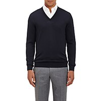 Svevo Men's V Neck Sweater Navy