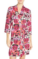 Women's Josie Print Short Robe