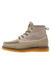 Quiksilver Transom Hightop Trainers Tan Grey
