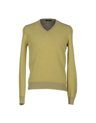 Gran Sasso Sweaters Acid Green