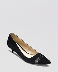 Cole Haan Pointed Toe Pumps Bradshaw Kitten Heel