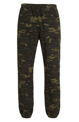 Alexander Wang Men's Elasticated Camo Print Chinos
