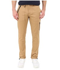 Publish Londen Coated Brushed Stretch Twill Khaki Men's Casual Pants