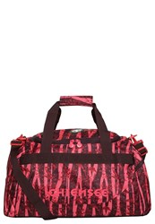 Chiemsee Matchbag Medium Sports Bag Zebra Flower Pink