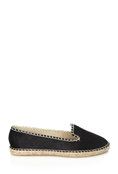 Forever 21 Topstitched Ponyhair Espadrilles