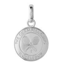 Links Of London Sterling Silver Wimbledon Disc Charm Female