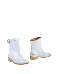 Miista Ankle Boots Light Grey