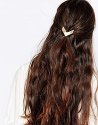 Designsix Chevron Pony Cuff Hair Band Gold