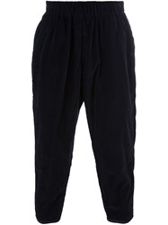 Casey Casey Velvet Trousers Black