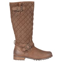 Barbour Holford Knee High Boots Brown